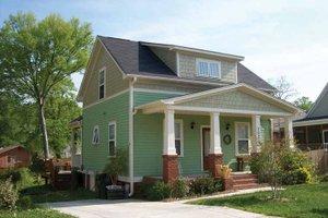 Dream House Plan - Craftsman Exterior - Front Elevation Plan #936-10