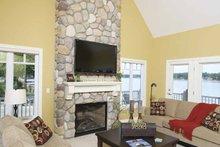 House Plan Design - Traditional Interior - Family Room Plan #928-44