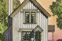 Country Exterior - Rear Elevation Plan #1016-91