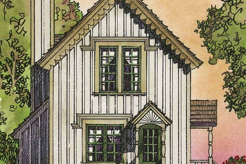 Country Exterior - Rear Elevation Plan #1016-91 - Houseplans.com