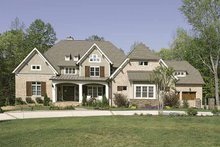Dream House Plan - European Exterior - Front Elevation Plan #453-605