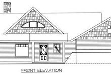 Dream House Plan - Ranch Exterior - Other Elevation Plan #117-561