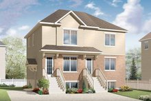 Home Plan - Traditional Exterior - Front Elevation Plan #23-2560