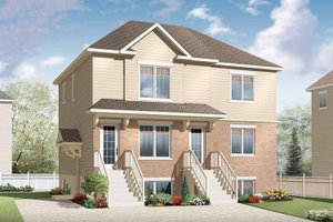 Dream House Plan - Traditional Exterior - Front Elevation Plan #23-2560