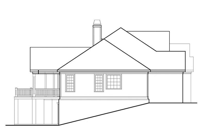 European Exterior - Other Elevation Plan #927-961 - Houseplans.com