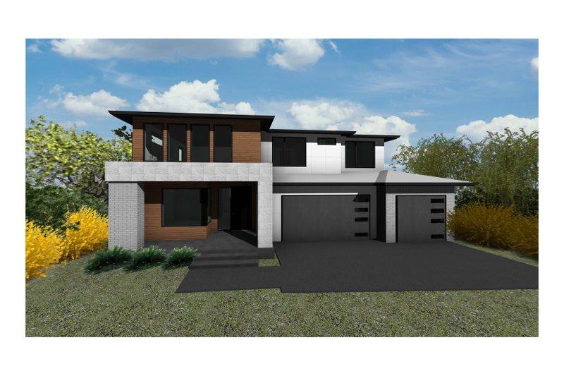 Home Plan - Modern Exterior - Front Elevation Plan #1066-134