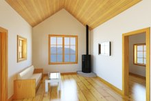 Cabin Interior - Family Room Plan #497-14