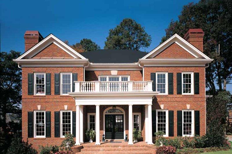 Classical Exterior - Front Elevation Plan #429-68 - Houseplans.com