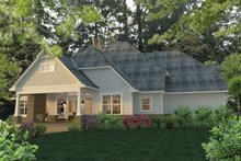 Home Plan - Craftsman Exterior - Rear Elevation Plan #120-248