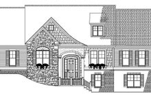 Contemporary Exterior - Front Elevation Plan #17-2798