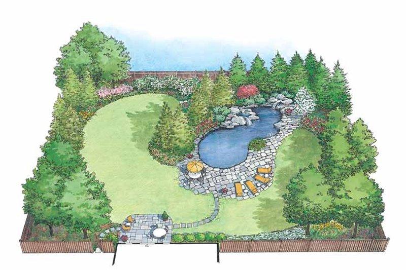 Exterior - Front Elevation Plan #1040-49