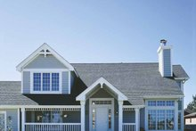 Home Plan - Country Exterior - Front Elevation Plan #320-672