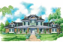 Architectural House Design - Victorian Exterior - Front Elevation Plan #930-206