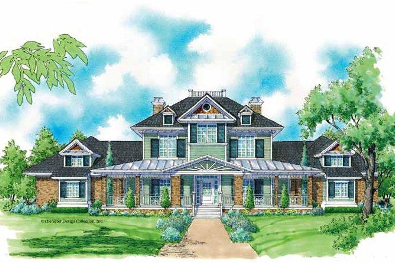 House Plan Design - Victorian Exterior - Front Elevation Plan #930-206