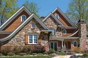 House Plan Design - Craftsman Exterior - Front Elevation Plan #54-294