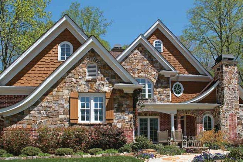 Craftsman Exterior - Front Elevation Plan #54-294