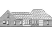 Dream House Plan - Traditional Exterior - Rear Elevation Plan #21-134