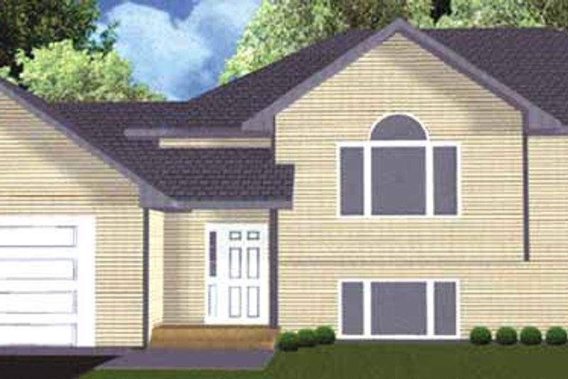 Traditional Exterior - Front Elevation Plan #980-6 - Houseplans.com