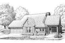 House Design - European Exterior - Front Elevation Plan #410-177