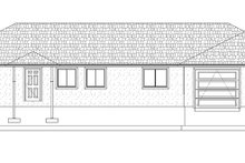 Dream House Plan - Ranch Exterior - Front Elevation Plan #1060-31