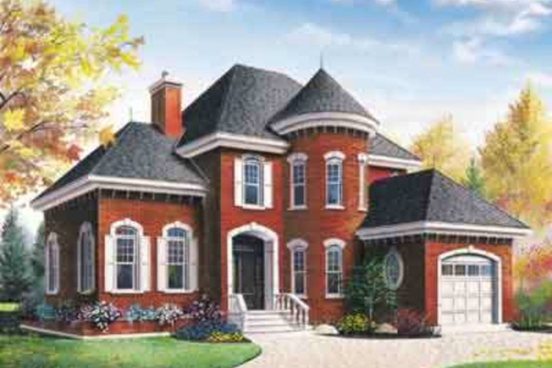 European Exterior - Other Elevation Plan #23-2155 - Houseplans.com