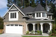 Victorian Style House Plan - 4 Beds 2.5 Baths 3415 Sq/Ft Plan #132-132 Photo