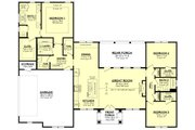 Ranch Style House Plan - 3 Beds 2.5 Baths 1998 Sq/Ft Plan #430-252