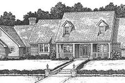 Farmhouse Style House Plan - 4 Beds 3.5 Baths 3064 Sq/Ft Plan #310-624 Exterior - Front Elevation