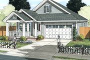 Cottage Style House Plan - 3 Beds 2 Baths 1786 Sq/Ft Plan #513-2087