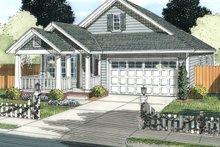 Cottage Exterior - Front Elevation Plan #513-2087