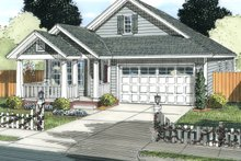 House Design - Cottage Exterior - Front Elevation Plan #513-2087