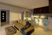 Farmhouse Style House Plan - 1 Beds 1.5 Baths 1024 Sq/Ft Plan #126-176 Interior - Family Room