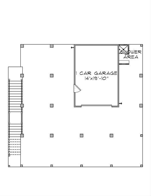 Floor Plan - Lower Floor Plan Plan #575-5