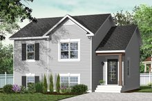 Dream House Plan - Country Exterior - Front Elevation Plan #23-2228