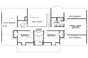 Country Style House Plan - 5 Beds 3 Baths 2747 Sq/Ft Plan #17-1161 Floor Plan - Upper Floor Plan