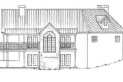 Country Style House Plan - 3 Beds 3 Baths 2491 Sq/Ft Plan #140-111 Exterior - Rear Elevation