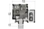 Contemporary Floor Plan - Main Floor Plan Plan #25-4433
