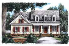 House Plan Design - Country Exterior - Front Elevation Plan #927-670
