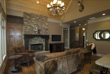 Country Interior - Family Room Plan #54-367