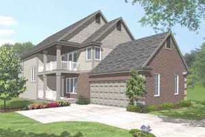 Traditional Exterior - Front Elevation Plan #50-276