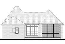 Home Plan - European Exterior - Rear Elevation Plan #430-92