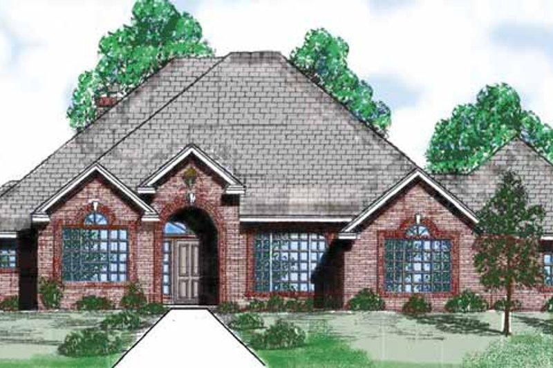 Traditional Exterior - Front Elevation Plan #52-271