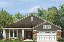 House Plan Design - Craftsman Exterior - Front Elevation Plan #1058-72