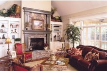 Dream House Plan - Country Interior - Family Room Plan #929-9