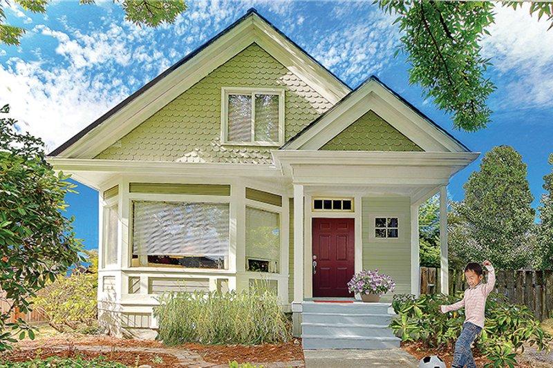 Ranch Exterior - Front Elevation Plan #137-369 - Houseplans.com