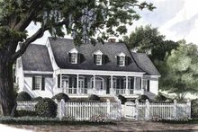 Architectural House Design - Classical Exterior - Front Elevation Plan #137-298