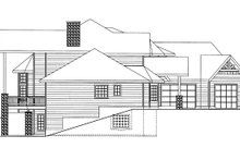 Home Plan - Contemporary Exterior - Other Elevation Plan #117-844