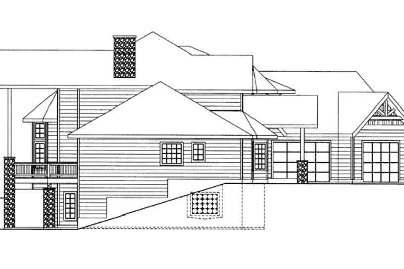 Contemporary Exterior - Other Elevation Plan #117-844 - Houseplans.com