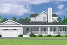 House Plan Design - Victorian Exterior - Other Elevation Plan #72-1132