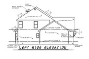 Craftsman Style House Plan - 3 Beds 3 Baths 2815 Sq/Ft Plan #20-2366 Exterior - Other Elevation